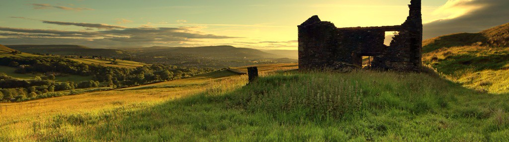 Musbury Tor Helmshore Lancashire by Artist and photographer Steven Townsend
